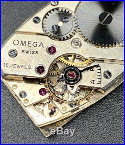 1930s SS Omega Tank Art Deco Dial Cal. T17