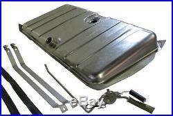 1967 1968 Camaro & Firebird Stainless Steel Gas Tank with Sending unit & Straps