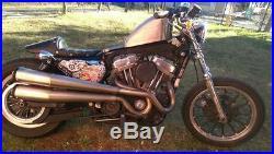 2007+Harley Davidson Sportster XL1200 FUEL INJECTED EFI FI GAS PETRO TANK FRISCO