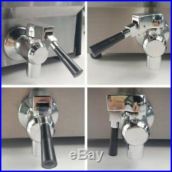 20L Electric Deep Fryer Fat Chip Commercial Twin Tank Stainless Steel with Timer