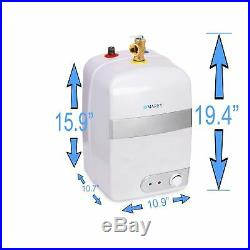 2.5 Gallon Electric Water Heater Marey Compact Mini Tank 110V 20 A New US Seller