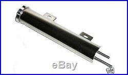 2x13 Stainless Steel 20 oz Radiator Overflow Catch Tank Can Street Hot Rat Rod