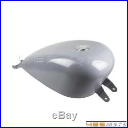 3.3 Gallon Replacement Efi Fuel Gas Tank For 2007-UP Harley Sportster XL Custom