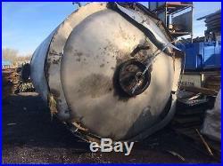 4.000 Mtr x 2.500 Mtr Used Stainless Steel Tank-steel Tank- Fuel Tank- 20,000