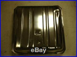 55 56 Chevy Stainless Gas tank 3/8 Sending unit Strap kit & Tank pad