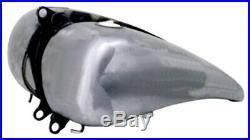 5.5 Gallon Flatside Fat Bob Style Gas Tank For Harley Softail, Fxwg & Custom