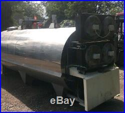 6000 Litre Stainless Steel Tank Direct Expansion Milk Brewing Vessel