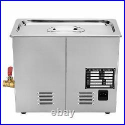 6L Digital Ultrasonic Cleaner Ultra Sonic Tank Bath Cleaning Heater Timer CE FCC