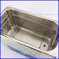 6L Digital Ultrasonic Cleaner Ultra Sonic Tank Bath Cleaning Heater Timer UK
