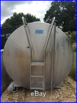 6,000 Litre Stainless Steel Bulk Milk Tank