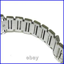 Auth Cartier Tank Francaise SM W51008Q3 Silver SS CC421025 Womens Wrist Watch