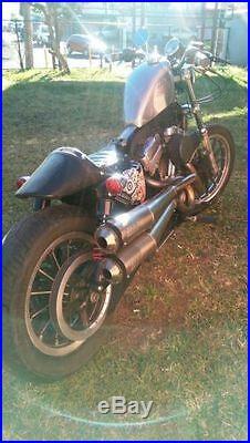 BOBBER FRISCO Raw 2.5 Gallon Gas Tank Harley Sportster XL EFI Fuel Injection 883