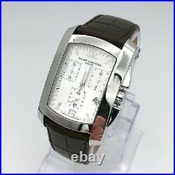 Baume & Mercier Chronograph ref 65448 Quartz tank style watch