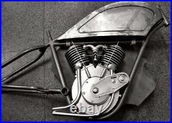 Board Track Racer FRAME & TANK only cafe Indian motorcycle bobber prewar whizzer