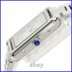CARTIER Tank solo SM Watches W5200013 Stainless Steel/Stainless Steel Ladies