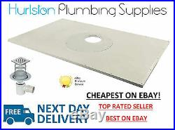 CHEAPEST ALL SIZES Impey Aqua Dec Easyfit Wetroom Formers inc SS Tile Gulley