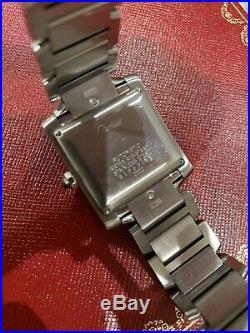 Cartier TANK Française (28mm) Automatic Steel Watch 2302