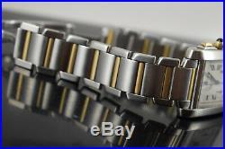 Cartier Tank Chronoflex 2303 18k Gold/steel Generic Box/