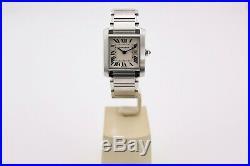 Cartier Tank Francaise 2465, Quartz Gents / Unisex Watch