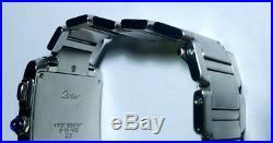 Cartier Tank Francaise Chronoreflex Stainless Steel Bracelet Quartz Watch #2303