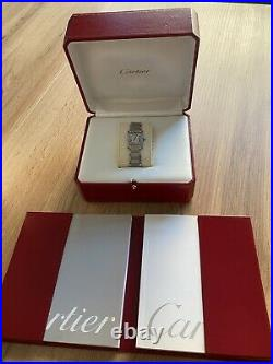 Cartier Tank Francaise SM Box & Papers