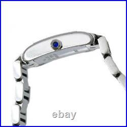 Cartier Tank Francaise SM W51008Q3 Quartz White Dial Ladies Watch 90122115