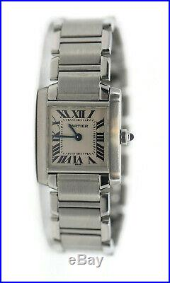 Cartier Tank Francaise Stainless Steel Watch 2300