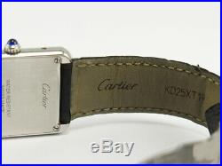 Cartier Tank Solo 2716 Steel Watch