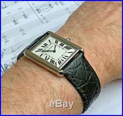 Cartier Tank Solo L Unisex Quartz Wristwatch