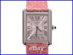 Cartier Tank Solo Quartz Stainless Steel Women's Watch 800000076251000