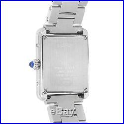 Cartier Tank Solo Stainless Steel Quartz Silver Ladies Watch W5200013
