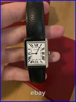 Cartier Tank Solo Watch With Box And Papers