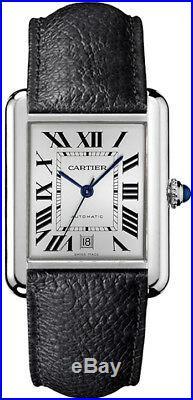 Cartier Tank Solo XL Automatic Mens Watch WSTA0029