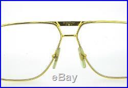 Cartier Tank Vintage Eyeglasses 1988 6212 Stainless Steel