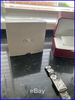 Cartier W5200014 Tank Solo Wrist Watch for Men Stainless Steel