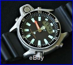 Citizen C520 / JP-2000 Aqualand Promaster & Tank (C022 C023) Diver Depth Sensor