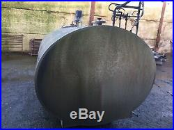 Dari-Kool Febdec Stainless Steel Bulk Milk Tank