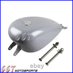 For Harley Sportster XL1200 883 2007-2021 New 3.3Gallon Smooth EFI Gas Fuel Tank