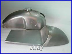 Fuel Petrol Tank With Saet Hood And Monza Cap Steel Benelli Mojave Cafe Racer