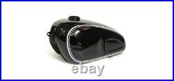 Fuel Tank Black Painted BMW R60/2 Airhead R69S S757 Schorsch Meier1960'S