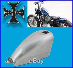 Gas Tank Narrow 1.6g Harley Mini Sportster Frisco Chopper Bobber Style Screw In