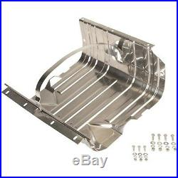 Gas Tank Skid Plate with strap Stainless for Jeep CJ Wrangler YJ 30539 Kentrol