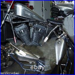 Gas Tank Stretch 2.5g Harley Sportster Frisco Style Bayonet Chopper Bobber Cafe