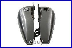Harley 5 Gal Split Gas Tank Fat Bob Flatside Evo 84-99 Softail V-Twin 38-0152 X1