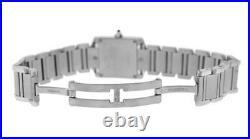 Ladies' Cartier Tank Francaise 2384 Stainless Steel Quartz 20MM Watch