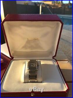 Ladies Cartier Watch Tank Francais 2465179512CE