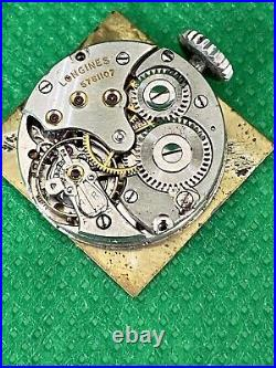 Longines Vintage Tank Watch Stainless Steel 15 Jewel