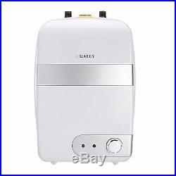 Marey TANK10L Mini Tank Electric Water Heater 2.5 GL Small, White 120V