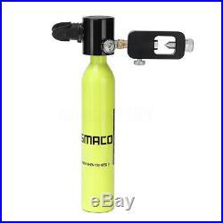 Mini Diving Equipment SMACO Scuba Diving Cylinder Oxygen Reserve Air Tank Set