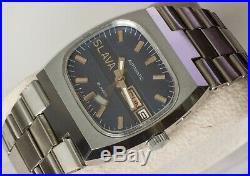 New Automatic Old Stock Ussr Slava 2427 Double Calendar Watch! Ultra Rare Tank